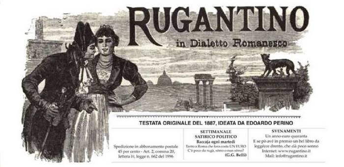 Settimanale satirico - politico in Dialetto Romanesco